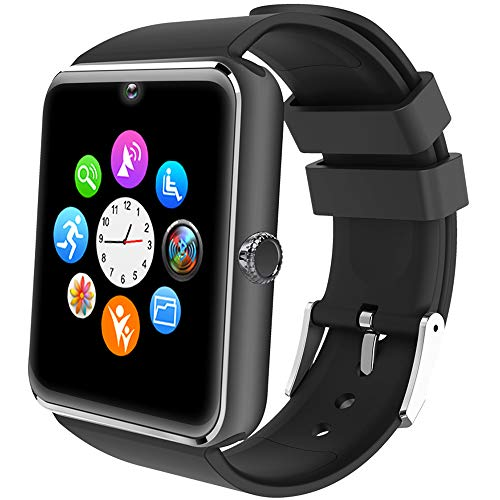 Willful Smartwatch Uomo Orologio Telefono con SIM SD Card Slot Smart Watch Bluetooth per Android...