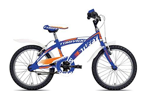 TORPADO Bici Junior stuffy 18'' Bimbo 1v Blu (Bambino) / Bicycle Junior stuffy 18'' Boy 1v Blue (Kid)