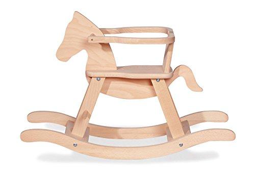 Cavallo a Dondolo in legno massiccio di Pinolino