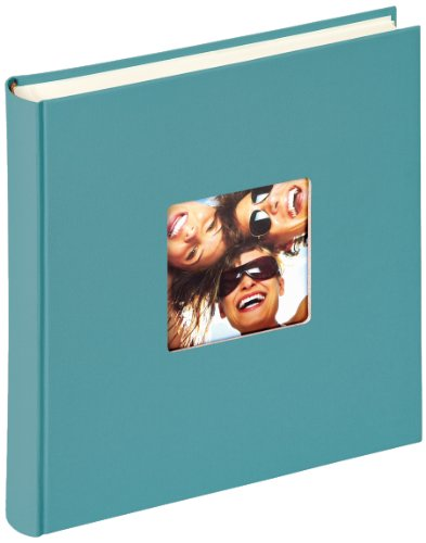 Walther Design, Album Foto Da Incollare Fun, Verde (Petrolgrün), 30 x 30 cm