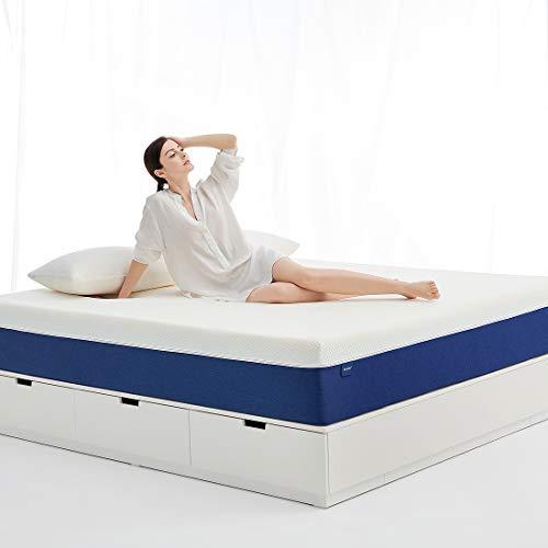Molblly Materasso ortopedico a 7 zone, 90 x 200 cm, durezza H3, in memory foam di alta qualità, altezza...