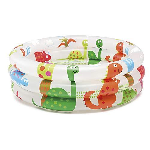 Intex- Piscina Baby Pool 3 Anelli, 61x22 cm, 57106