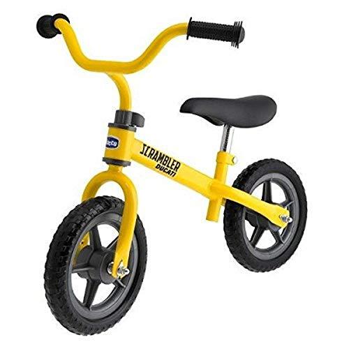 Chicco Ducati Scrambler Bicicletta Bambini Senza Pedali 2-5 Anni, Bici Senza Pedali Balance Bike per...