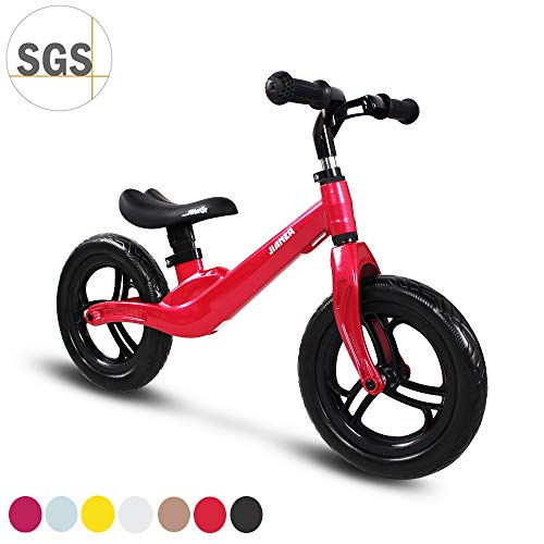 COEWSKE 12'Balance Bike Magnesio Lega No Pedal Walking Balance Training Bicicletta per Bambini e Bambini...