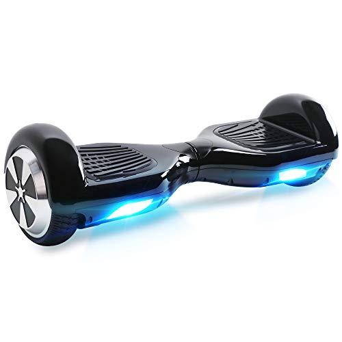BEBK Hoverboard in Offerta 6.5' Overboard Bambini con Certificazione UL2272 LED,Autobilanciato Skateboard...