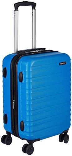 AmazonBasics - Valigia Trolley rigido, 55 cm (utilizzabile come bagaglio a mano di dimensioni standard),...