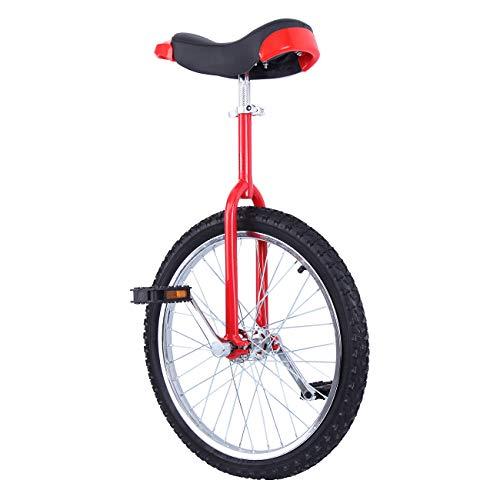 Yonntech 20' Trainer per Bambini/Adulti Monociclo Regolabile in Altezza Bici di Bicicletta di Esercizio...