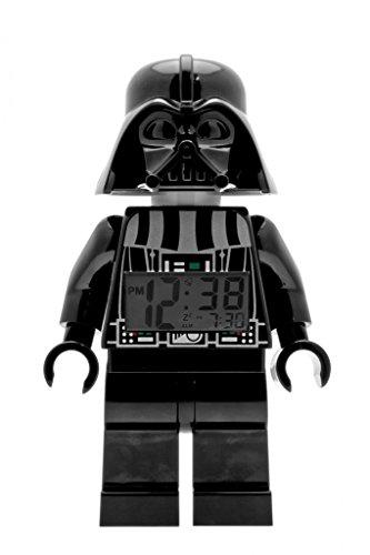 LEGO Star Wars 9002113 Sveglia retroilluminata per bambini minifigure Darth Vader