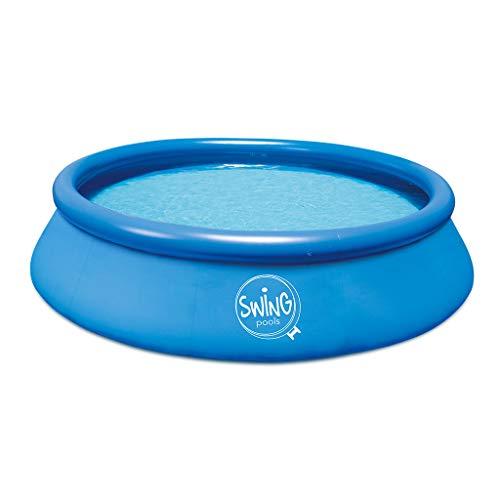 well2wellness® Quick-Up Piscina Swing Ø457 x 122 cm – Blu