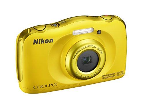 Nikon Coolpix W100 Fotocamera Digitale Compatta, 13,2 Megapixel, LCD 3', Full HD, Blue [Nital Card: 4...