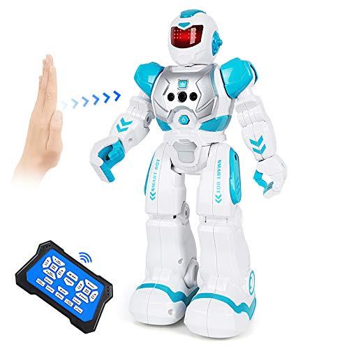 ARANEE Robot Giocattolo Bambini, Robot Telecomandato con Intelligente Programmabile Gesture...