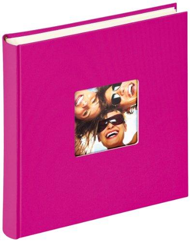 Walther Design, Album Foto Da Incollare Fun, Rosa (Pink), 30 x 30 cm