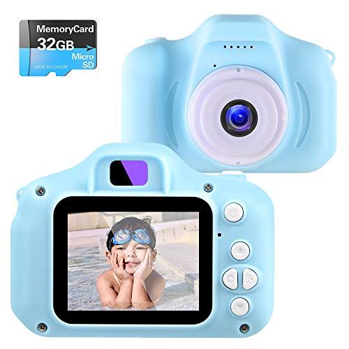 NINE CUBE Fotocamera Digitale Bambini,Giocattoli Macchina Digitale Fotografica per Bambina,Videocamera...