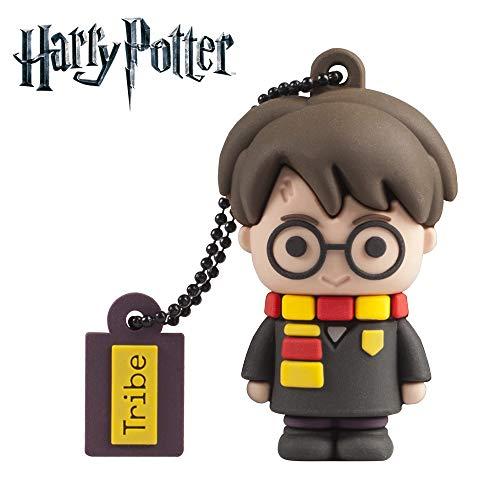 Tribe - Chiavetta USB 16 GB Harry Potter - Memoria Flash Drive 2.0, Personaggio Saga Harry Potter,...