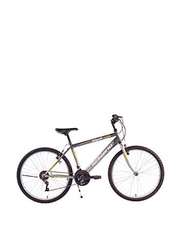 F.lli Schiano Integral Cambio Shimano 18V Bicicletta, Arancione/Nero, 26