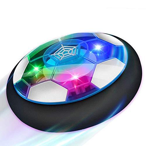 Baztoy Pallone Calcio Fluttuante, Giocattoli Bambini Palla Ricaricabile da Casa con Luci LED Hover Soccer...