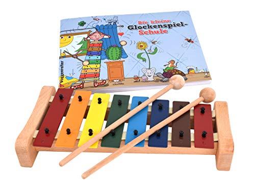 Das bunte Glockenspiel-Set: Kunterbunter Klangspaß für Kinder ab 4 Jahren!