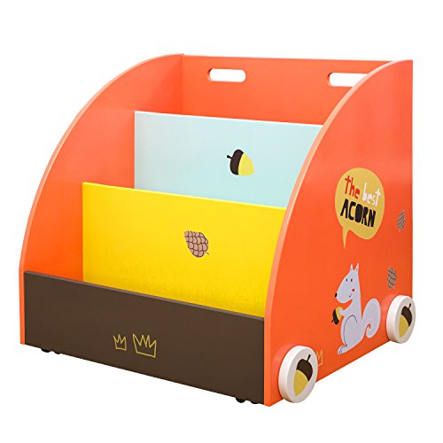 labebe - Libreria Bambini, Mobile Cameretta Bambini, Piccola Libreria Bimbi Frontale, Kids Scaffale Legno...