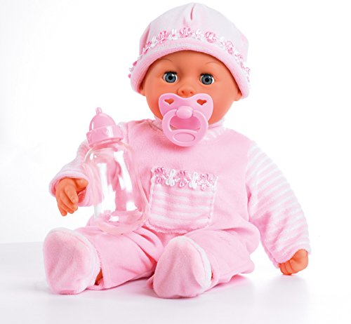Bayer Design 93800-Pink - Bambola Bebè First Words Baby Interattiva