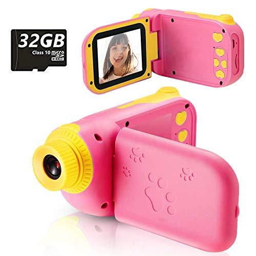 Fotocamera per Bambini Giocattolo Videocamera Digitale per Bambini Giocattolo per Bambini Schermo HD da...