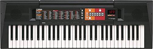 Yamaha PSR-F51Tastiera Portatile, 61-Tasti, Display LCD, 6 Watt, Nero