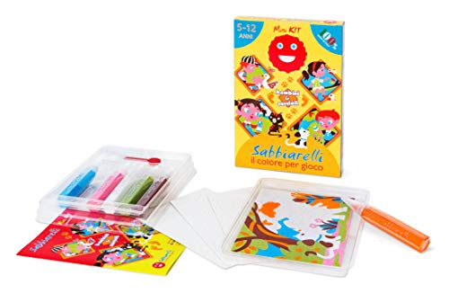 Sabbiarelli Sand-it for Fun - Kit Bambini e Cuccioli - Set Lavoretti Creativi: Colora con la Sabbia Tutti...