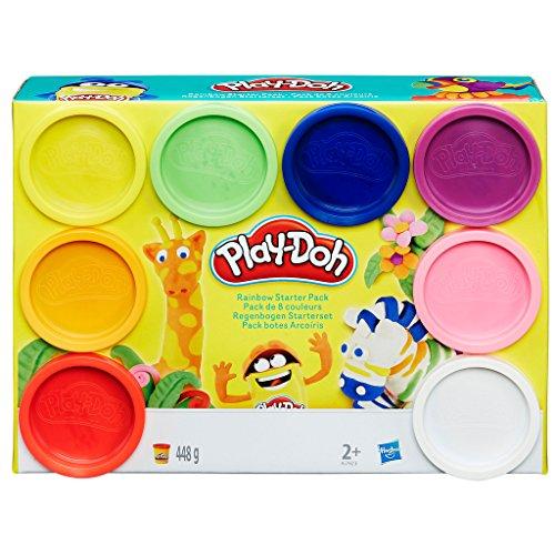 Play-Doh - Rainbow Pack Vasetti di Colori, A7923EU6