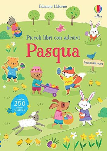 Pasqua. Piccoli libri con adesivi. Ediz. a colori