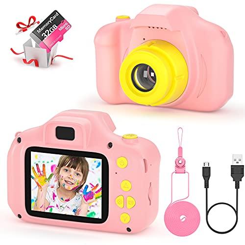 vatenick Fotocamera per Bambini Giocattolo Videocamera Digitale per Bambini Giocattolo per Bambini...
