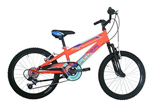 COPPI rm2u20206ba.27ar Bicicletta Btt per Bambino Ragazzo, Arancione, Dimensione: 20Pollici