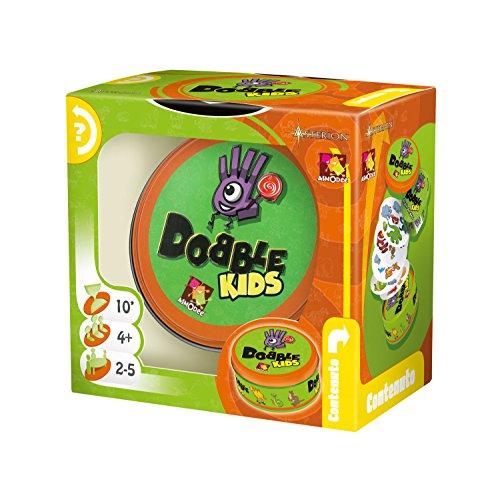 Asmodee- Dobble Kids, Colore, 8231