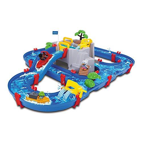 AquaPlay 70 Pz Mountain Lake Gioco Giocattolo Acquatico per Bambini 126x88x35 cm