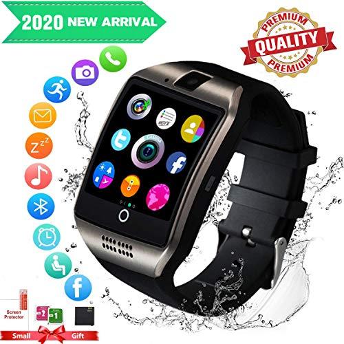 Smartwatch,Bluetooth Smart Watch con Camera Orologio Intelligente Orologio Cellulare Impermeabile con SIM...