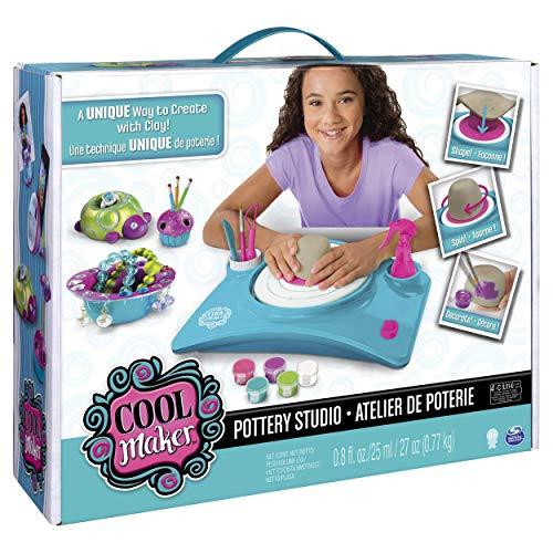 Cool Maker- Studio, Kit di Lavorazione con Ruota per Ceramica per Bambini dai 6 Anni in su (L'Edizione...