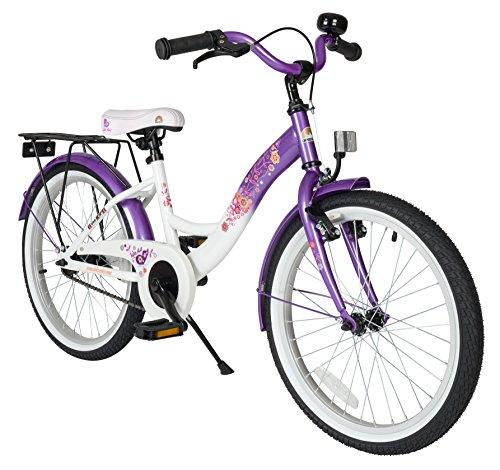 BIKESTAR Bicicletta Bambini 6-7 Anni Bici Bambino Bambina 20 Pollici Freno a Pattino e Freno a...