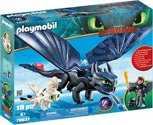 Playmobil Dragons 70037 - Sdentato e Hiccup con Baby Dragon, dai 4 anni