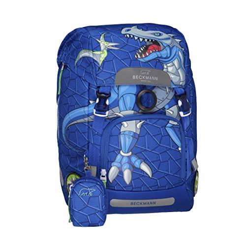 Beckmann of Norway - Set zaino per la scuola, per ragazzi, con parapioggia, borraccia, box per la spesa e...