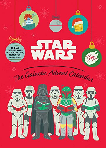 Star Wars the Galactic Advent Calendar: 25 Days of Surprises With Booklets, Trinkets, and More!