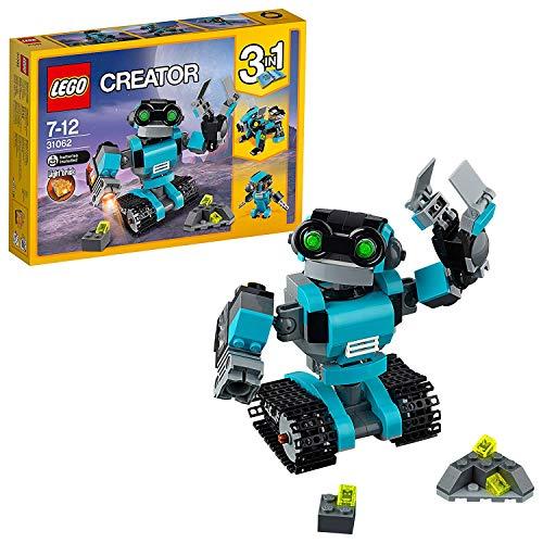 LEGO- Creator Robo Esploratore Costruzioni Piccole Gioco Bambina Giocattolo, Multicolore, 31062