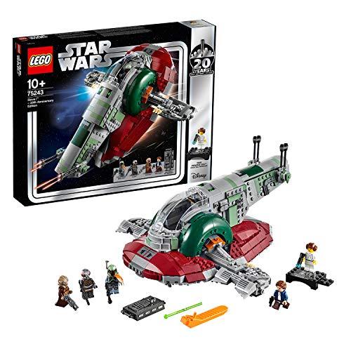 LEGO StarWars SlaveI–Edizione20°Anniversario, Minifigure da Collezione con Principessa...