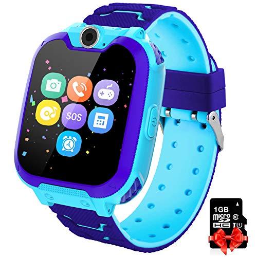 PTHTECHUS Orologio Intelligente Bambini con 7 Giochi - Musica MP3 Smartwatch Studente, Orologio...