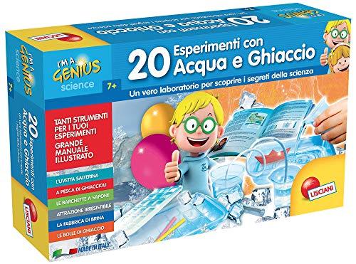 Lisciani Giochi I'm a Genius 20 Esperimenti Acqua e Ghiaccio, 56309