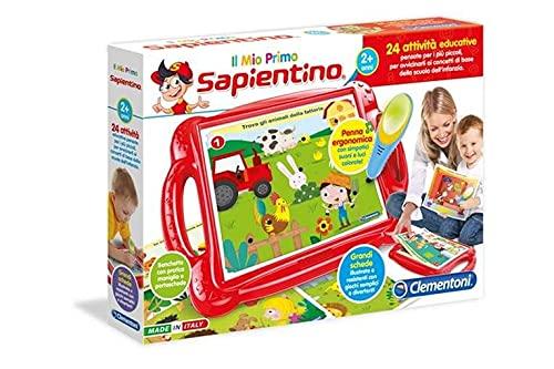 Clementoni - 11984 - Sapientino - Il Mio Primo Sapientino, banchetto con schede attività e penna...