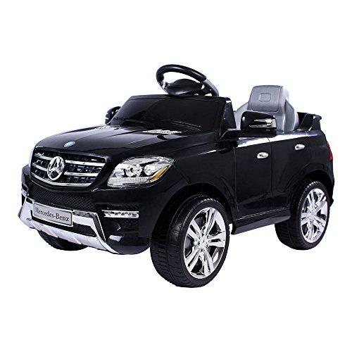 moleo Mercedes ML 350, Macchina Elettrica per Bambini, Auto elettrica, per Ragazzi e Ragazze, Attacco...