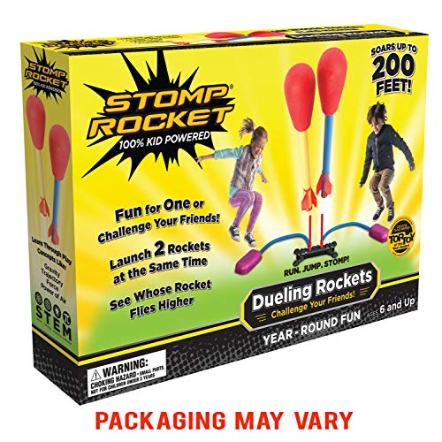 Kids@Play Stomp Rocket 20888Duelling Stomp Rocket Kit (Multicolore)