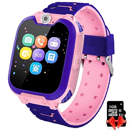 Orologio Intelligente Bambini con 7 Giochi - Musica MP3 Smartwatch Studente, Orologio Intelligente...