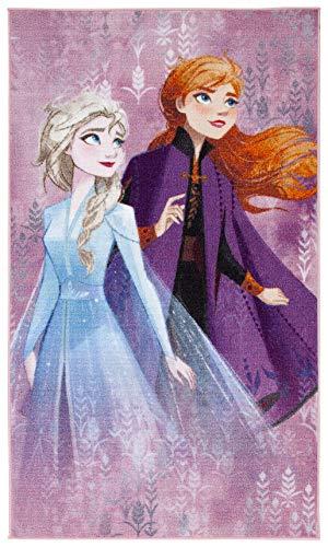 Disney Frozen 2 Tappeto cameretta, Poliammide, m