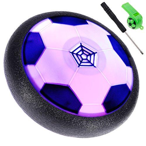 Lictin Hover Ball Calcio da Interno - Pallone da Calcio da Casa Fluttuante con Luci a LED, Giocattoli...