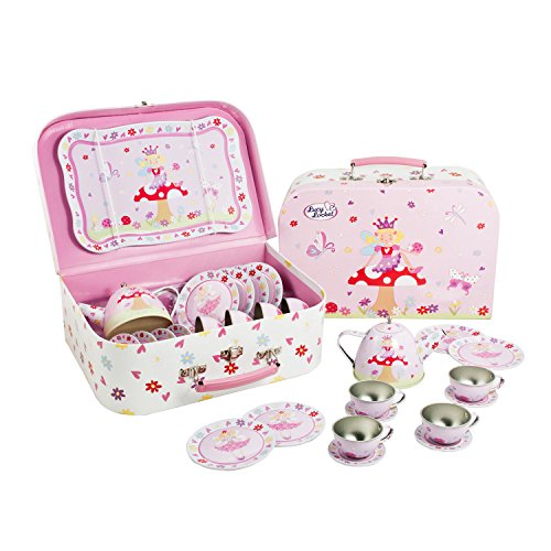 Lucy Locket Set da tè con fatina (set cucina giocattolo, cucina bimbi, giochi cucina per bambini) (set...