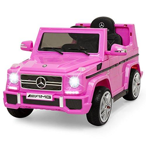 Mondial Toys Auto Macchina ELETTRICA Mercedes G65 AMG Fuoristrada per Bambini 12V con Sedile in Pelle...